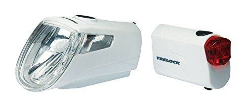 Trelock Led Beleuchtungsset 360 I Go LS 720 Reego Weiß, White, 10 x 5 x 3 cm