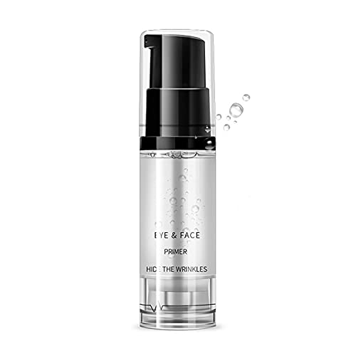 Maepeor Clear Eyeshadow Primer Prevent Oily Lids and Creasing Eye Primer Base Long-lasting Waterproof & Smudgeproof Eye Primer Makeup for Eyes and Faces (Clear, 0.2 oz)