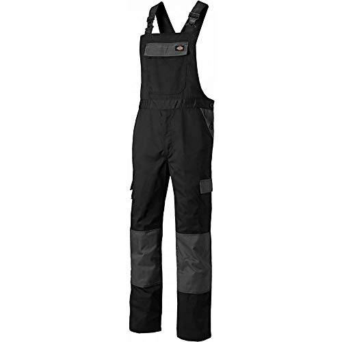 Dickies Mens Everyday Bib & Brace Work Overall Polyester Dungarees Bib