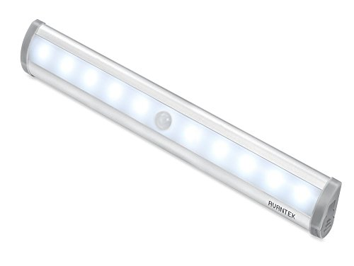 AVANTEK LED Nachtlichter mit Bewegungsmelder, Magnetische Schranklicht, Batteriebetrieben