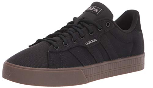 Adidas mens Daily 3.0 Sneaker, core black/core black/GUM5, 6.5 US
