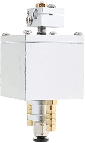 Accesorios de Impresora Reemplazo de extrusora única V6 de 0,4 mm Kit de Cabezal refrigerado por Agua para Impresora 3D Piezas de Repuesto
