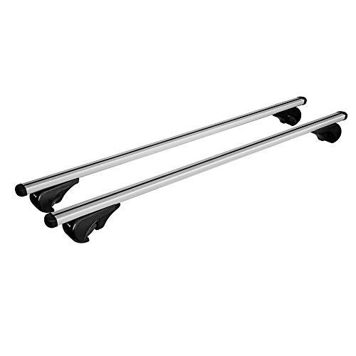 portapacchi Nordrive Snap Steel in acciaio nero Barre portatutto per Ford S-Max 2 II dal 10//2015 dotate di serratura antifurto