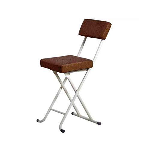 WJJ Silla de Sala Silla Plegable del Taburete, Mesa sillas de Hogares de Comedor, Sala de 50 cm de Altura Sillón Relax (Color : A)
