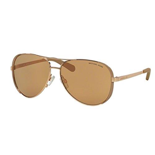 Michael Kors 0MK5004 Gafas, Rose Gold/Taupe 1017r1, 59 Unisex-Adulto