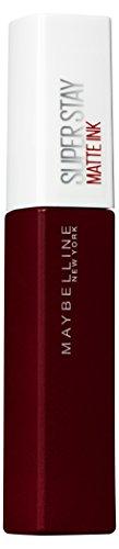Maybelline New York Lippenstift, Super Stay Matte Ink, Flüssig, matt und langanhaltend, Nr. 50 Voyager, 5ml