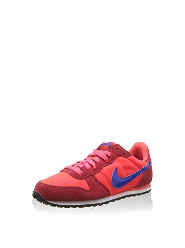 Nike Wmns Genicco, Zapatillas de Deporte Mujer, Naranja (Brght Crmsn/Rcr Bl-Unvrsty Rd), 40