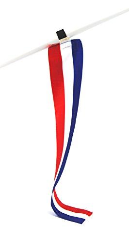 5er-Set Niederlande Mini-Flagge, Kleine Deko-Fahne, Fan-Artikel für Fußball Euro 2020 WM EM oder Dekoration für Camping Messe Urlaub u.v.m.