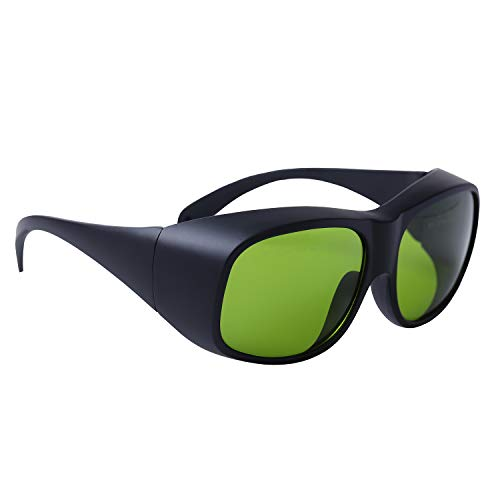 Gafas protectoras láser 740 - 780nm DIR L5 y 800 - 1070nm DIR L7 Gafas de seguridad para Nd: Yag Laser, diodos láser Técnico