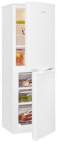 Exquisit Frigorífico y congelador KGC145-50-040F blanco   dispositivo de pie   140 L de volumen   Color blanco