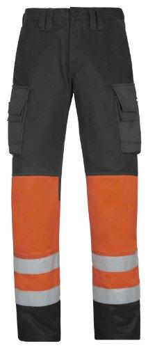 Snickers HV Bundhose Kl. 1, orange Größe: 84