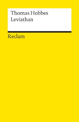 Leviathan (Reclams Universal-Bibliothek)