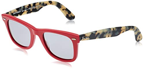 Ray-Ban 0RB2140 Gafas de sol, Red, 50 Unisex