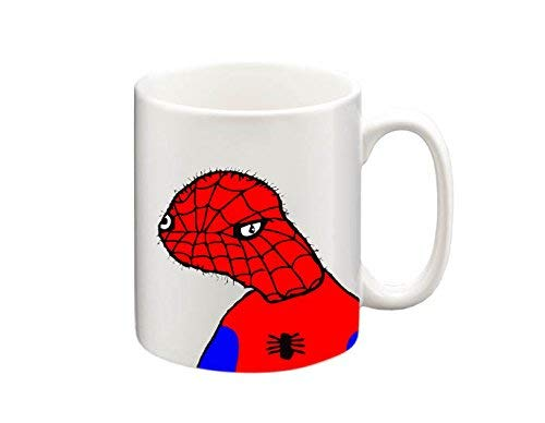 Funny Spoderman Meme tazza, Tazza da caffè, tazza da tè, Tazza da tè