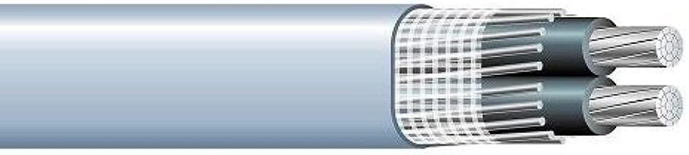 4/0-4/0-2/0 Aluminum SEU Cable 600V Service Entrance Wire (50FT)