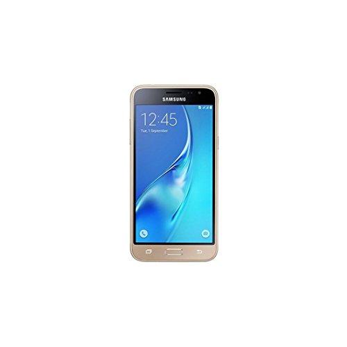 Samsung Galaxy J3, Smartphone libre (5'', 1.5GB RAM, 8GB, 8MP) [Versión española: incluye Samsung Pay, actualizaciones de software y de Bixby, compatibilidad de redes], color Dorado