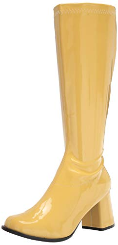 Ellie Shoes Women's Knee High Boot Fashion, Yellow, 8