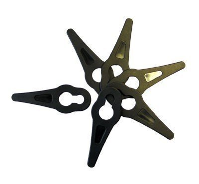 First4Spares Replacement Grass Trimmer Plastic Blades For Gtech ST04 ST05Strimmers Pack of 20