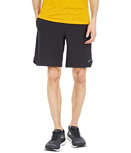 Brooks Men's Equip 9' Short, Black, Medium