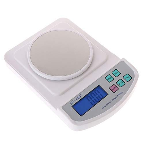 hehuanxiao Digitale Küchenwaage Hochpräzise Digitale elektronische Schmuckwaage Küchenwaage Gewicht Gramm Kaffeewaage 500 g / 0,01 g Gewicht Milligramm Waage