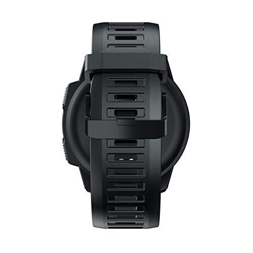 Banane Pentagon Smartwatch für Zeblaze VIBE 5 Pro, wasserdicht, 5 ATM, 3,3 cm Touchscreen, lange Batterielebensdauer, Bluetooth Tracking Smart Sportuhr, kompatibel mit Android und iOS, Schwarz