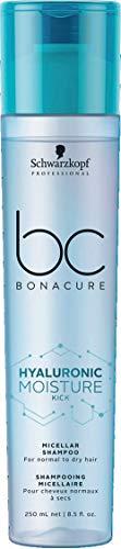 Schwarzkopf Professional Bc Hyaluronic Moisture Kick Micellar Shampoo 250 Ml - 1 Unidad