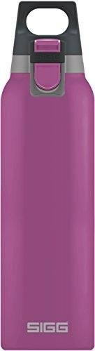 Sigg Vakuum-isolierte Trinkflasche SIGG Hot und Cold ONE Berry, Vakuum-isolierte Thermo-Flasche aus Edelstahl, 0.5 L, BPA Frei, Rosa, Rosa, 0.5 L, 8693.90