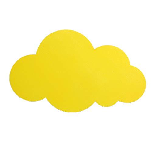 ZHANGYN Candelabros de pared Simple lámpara de pared LED creativo moderno de la personalidad de noche dormitorio lámpara de luz chica linda Children Pared (Color : Yellow)