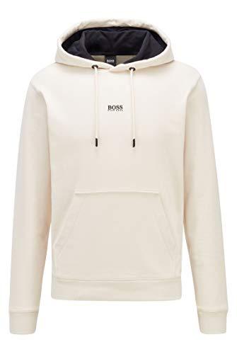 BOSS Mens Weedo 2 10234069 01 Sweatshirt, Light Beige272, XL