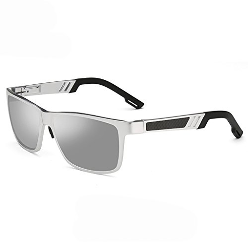 Zonnebril Heren Mode Zon Polariserende Spiegel Tidal Zonnebril Hoog - Grade Aluminium - Magnesium Rijden Bril