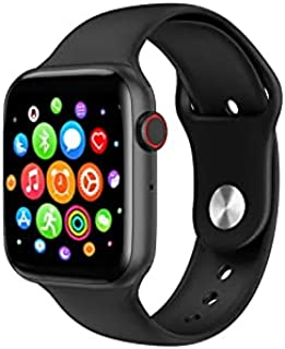 M3 Full Touch Screen Smart Watch - Messages and Calls - Compatible with Android and iOS Black
