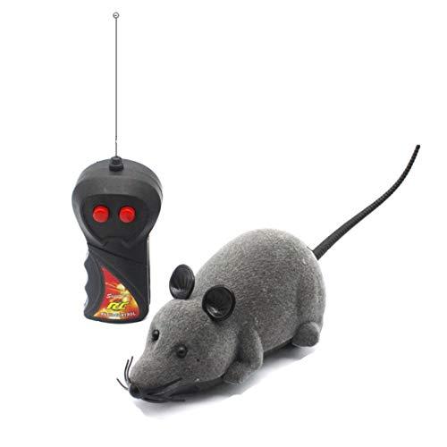 Jiuyizhe Kat Speelgoed Draadloze Afstandsbediening Simulatie Muis, Huisdieren Kat Interactieve Kat Speelgoed