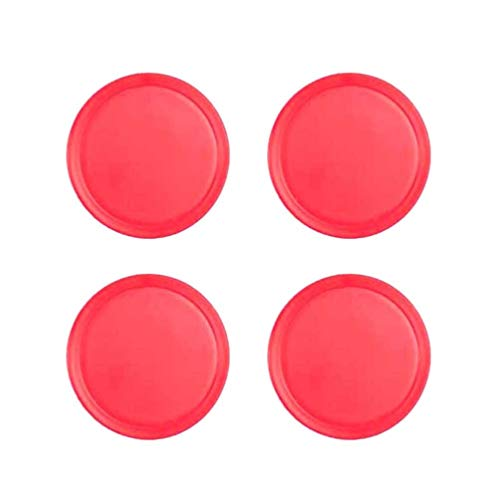 Toyvian 4Pcs Air Hockey Ersatz Mini Air Hockey Tisch Pucks für Spieltische Ausrüstung Zubehör 50Mm