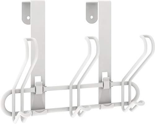 Franklin Brass 3-Hook Wire Over The Door Storage Rack