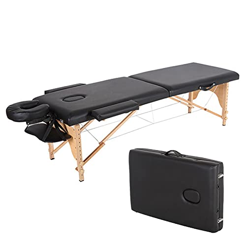 JFF Lit De Spa Facial Pliant Léger, Table De Massage Portative, Lit De Canapé De Thérapie De...