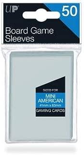Ultra Pro 41mm X 63mm Mini American Board Game Sleeves 50ct