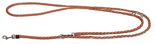 Kerbl 81083 Maxi Safe Führleine, 200 cm x 12 mm, neon orange