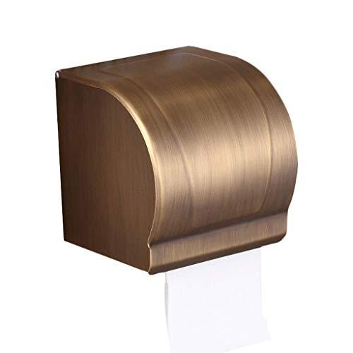 STRAW Papierhandtuchhalter Antike Badezimmer-Gewebe-Kasten-Toilettenpapier-Rohr Freien Stanzen Platz Wasserrollenpapier-Halter Toilettenpapier-Halter Toilettenpapier-Box (Size : 12.5 * 105 * 12.2cm)