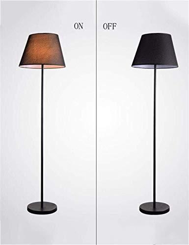 HYY-YY Boden-Beleuchtung, Eisen, Continental, Stoff, vertikal, für das Studieren, Boden, inkl. Leuchtmittel für Wohnzimmer, A-2 (Farbe: B1)