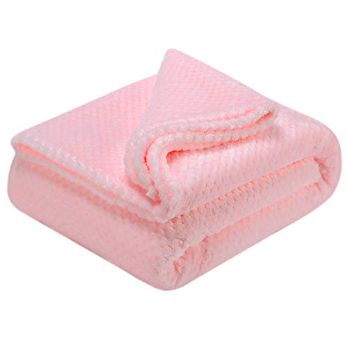 Fuzzy Throw Blanket, Plush Fleece Blankets for Adults, Toddler, Boys and Girls, Warm Soft Blankets and Throws for Bed…