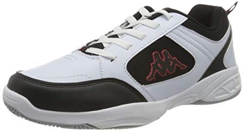 Kappa Męskie buty sportowe Glenbeg, 1011 White Black, 41 EU