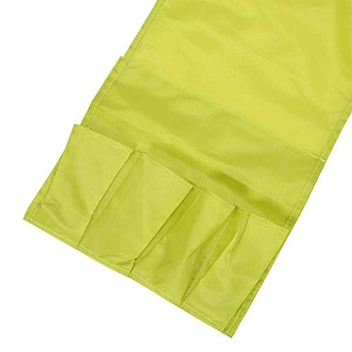Al lado de almacenamiento sofá bolsillo plegable para almacenar control remoto (verde)