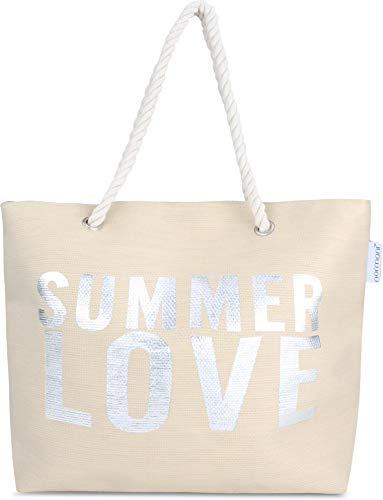 normani Strandtasche Schultertasche Handtasche Umhängetasche mit Sommer Design und...