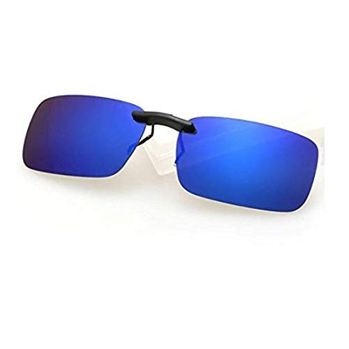 cf14f7dd85 DALUCI Polarized Sunglasses Clip On Driving Glasses Day Night Vision Lens  UV400