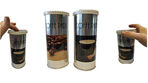 Senseo James Premium Paddose für 18 Kaffeepads, Dose, Pad, 2er Pack