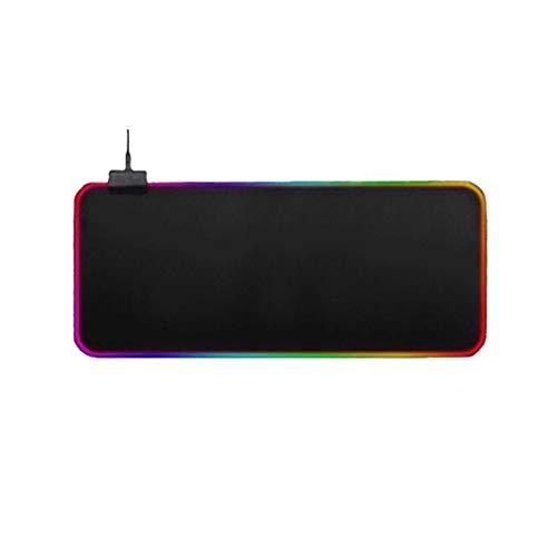 1 stuks kleurrijke rgb lichtgevende symfonie muismat gaming muismat kleurrijk