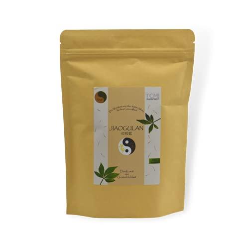 Jiaogulan - Herbe antistress - Idéale pour les athlètes, pour soulager le stress et améliorer le sommeil - Remède domestique chinois riche en tradition - Ginseng à 5 feuilles