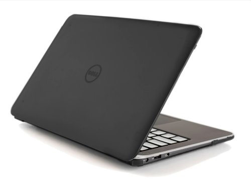 Black iPearl mCover Hard Shell Case for 13.3' Dell XPS 13 9343/9350 Model(Released After Jan. 2015, not Fitting Older L321X / L322X / 9333 Model Released Before Jan. 2015) Ultrabook Laptop - Black