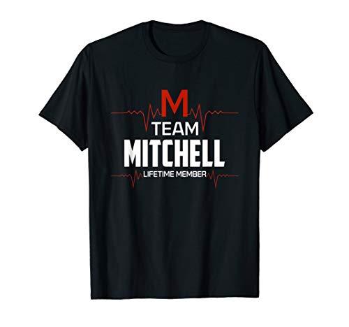 Team Mitchell lifetime member shirt surname last name