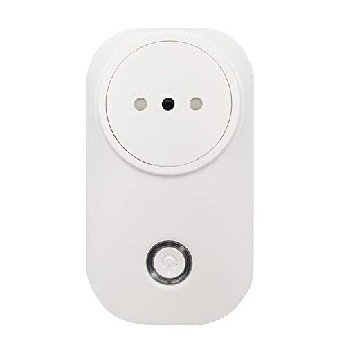 Smart Plug Wifi Smart Socket Italia Chile Outlet Power Monitor 16A Aplicación Tuya Smart Life Alexa Google Home IFTTT